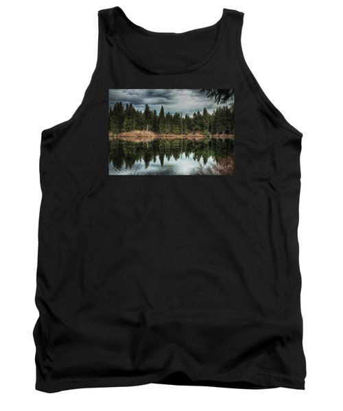 Tank Top featuring the photograph Across The Lake by Belinda Greb