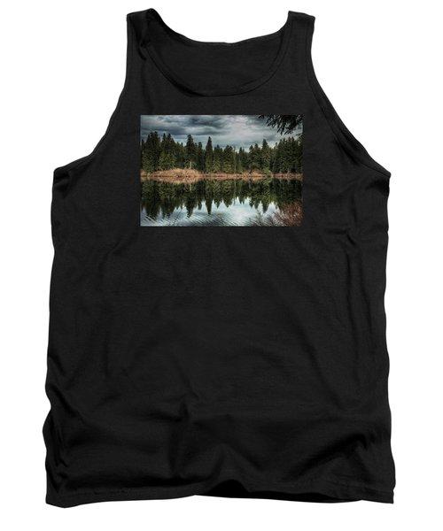 Across The Lake Tank Top