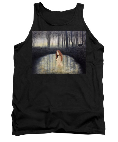 Actaeon And Artemis Tank Top
