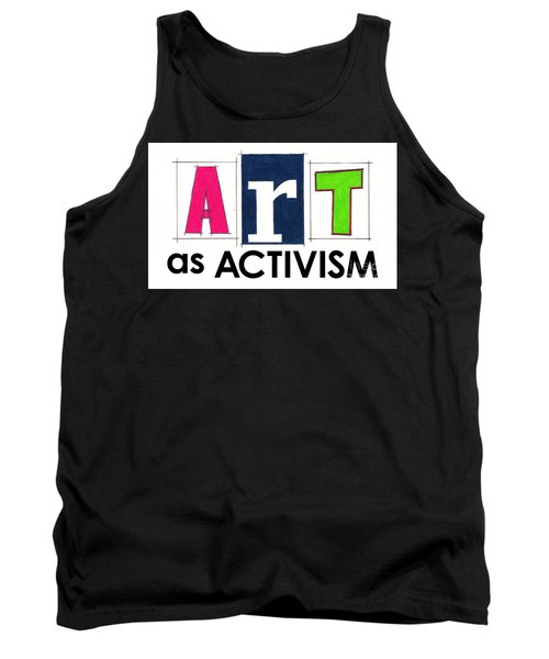 Art As Activism. Tank Top