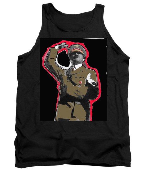 Adolf Hitler Saluting 2 Circa 1933-2009 Tank Top