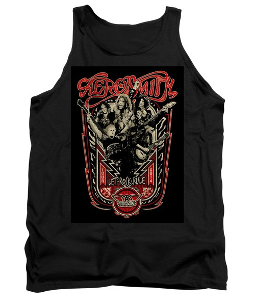 Aerosmith - Let Rock Rule World Tour Tank Top by Epic Rights