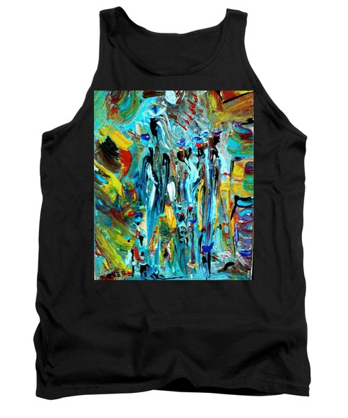 African Tribe Festivals Tank Top by Kelly Turner