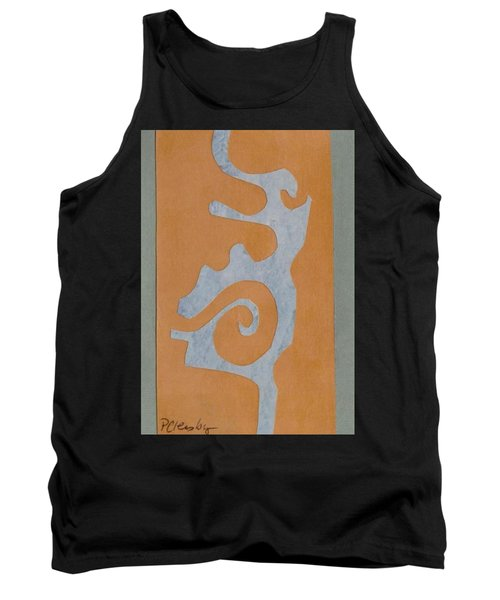 Swirl  Tank Top by Patricia Cleasby