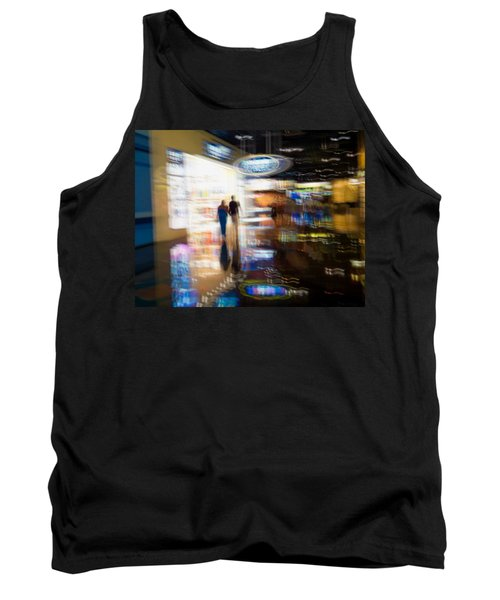 Tank Top featuring the photograph After The Show by Alex Lapidus