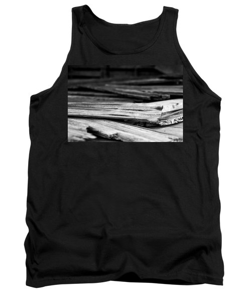 Against The Grain Tank Top
