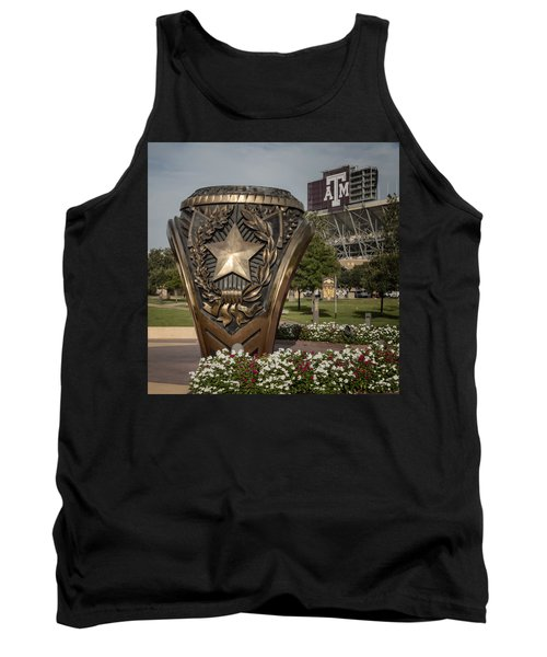 Tank Top featuring the photograph Aggie Ring by Joan Carroll
