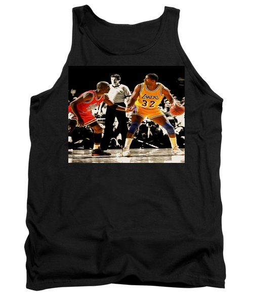 Air Jordan On Magic Tank Top by Brian Reaves