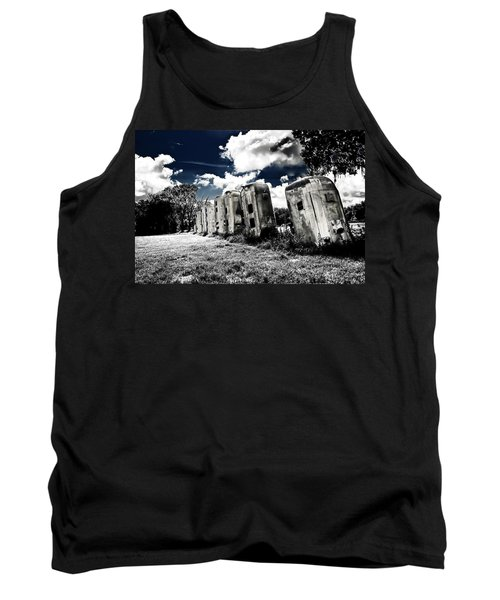 Airstream Ranch In Ir Hdr Tank Top by Michael White