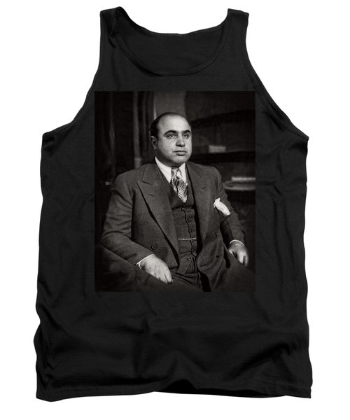 Al Capone - Scarface Tank Top by Doc Braham