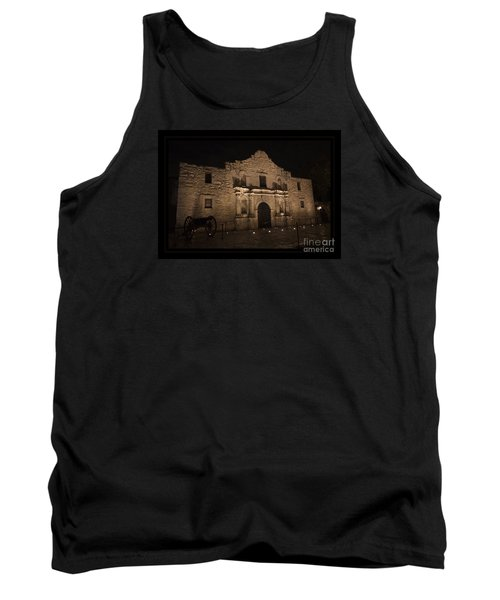 Alamo Mission In San Antonio Tank Top