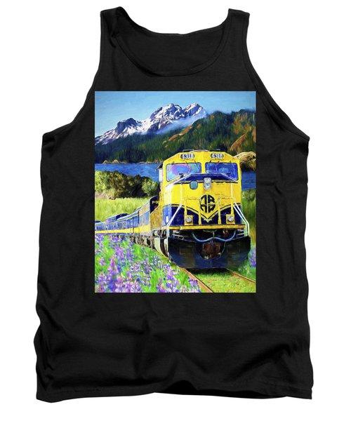 Alaska Railroad Tank Top