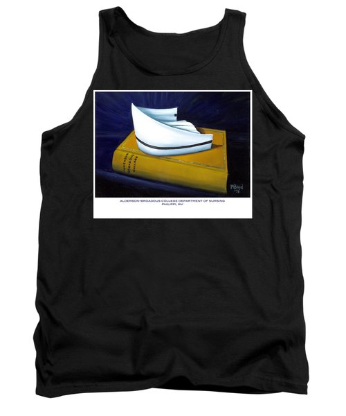 Tank Top featuring the painting Alderson-broaddus College by Marlyn Boyd