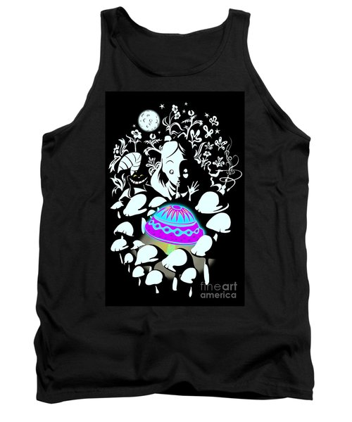 Alice's Magic Discovery Tank Top by Sassan Filsoof