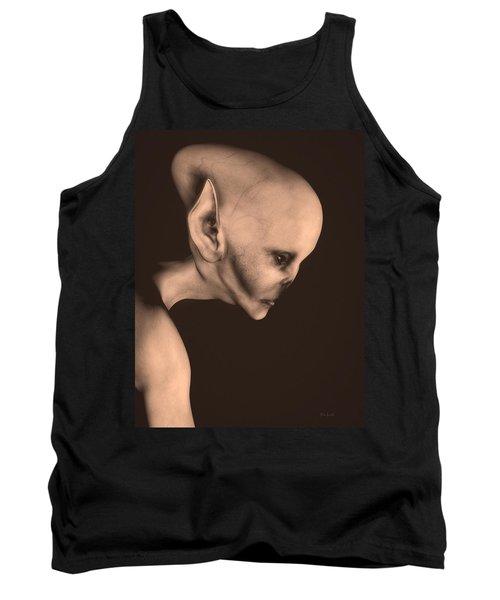 Alien Portrait  Tank Top by Bob Orsillo