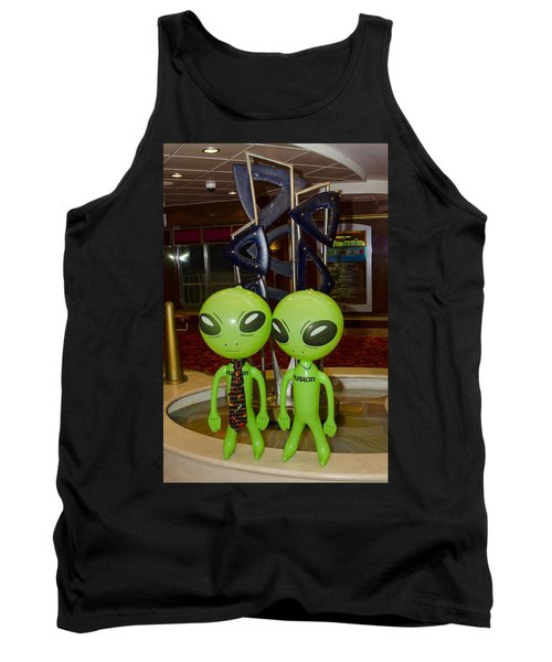 Aliens And Whatamacallit Tank Top