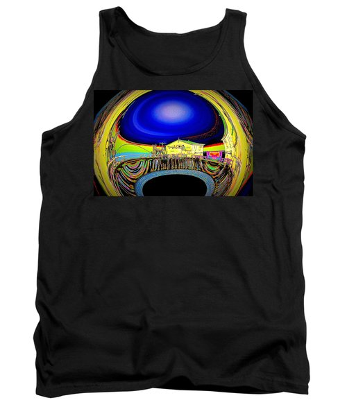 All Aboard  Tank Top by Nick David