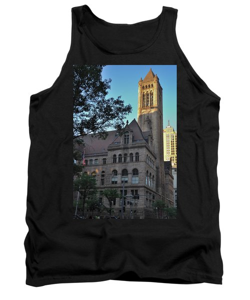 Tank Top featuring the photograph Allegheny County Courthouse by Steven Richman