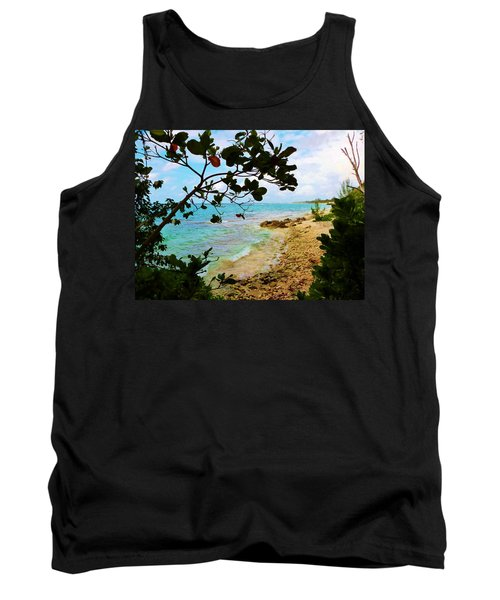 Tank Top featuring the photograph Almond View by Amar Sheow