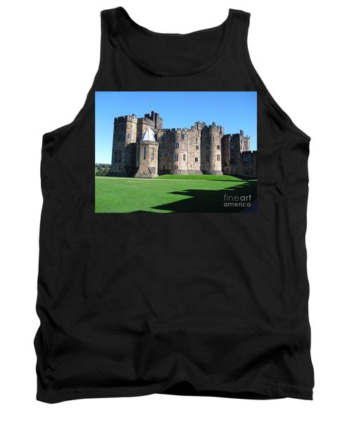 Tank Top featuring the photograph Alnwick Castle Castle Alnwick Northumberland by Paul Fearn