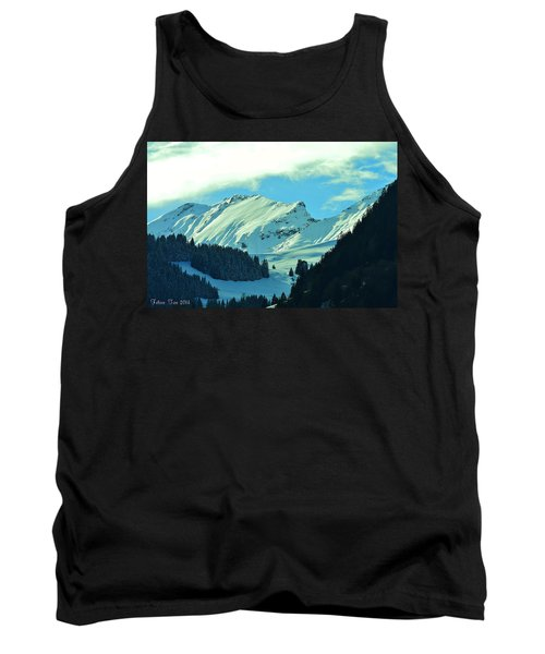 Alps Green Profile Tank Top