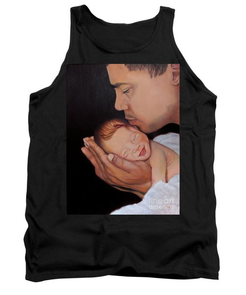 Always In His Heart And In His Hands Tank Top