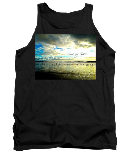 Amazing Grace Sunrise 2 Tank Top by Margie Amberge