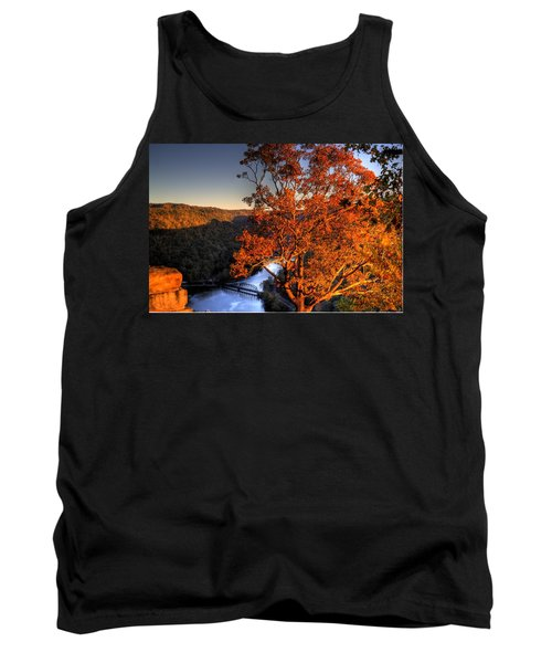 Amazing Tree At Overlook Tank Top by Jonny D
