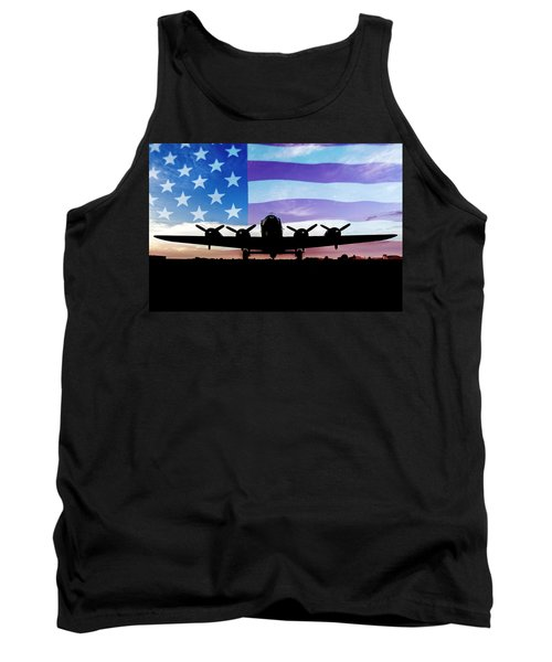 American B-17 Flying Fortress Tank Top