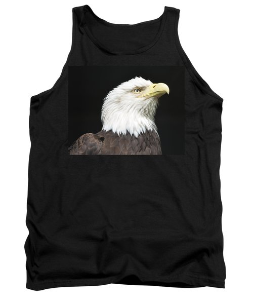 American Bald Eagle Profile Tank Top