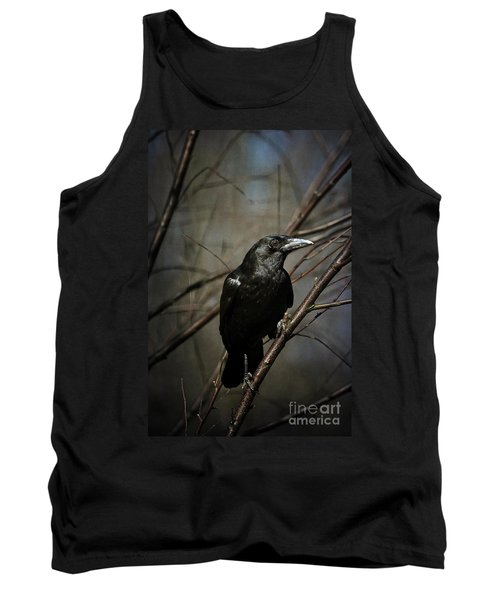 American Crow Tank Top by Lois Bryan