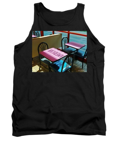 Tank Top featuring the photograph American Fast Food by David Perry Lawrence