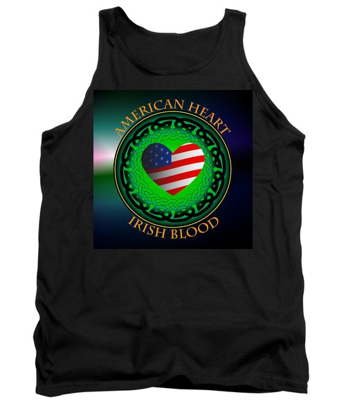 American Heart Irish Blood Tank Top