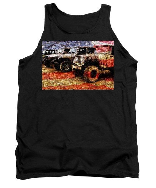 American Jeeps Tank Top