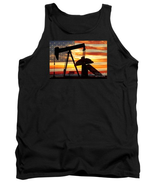 American Oil  Tank Top by James BO  Insogna