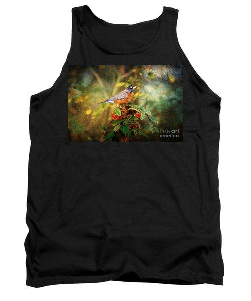 American Robin - Harbinger Of Spring Tank Top