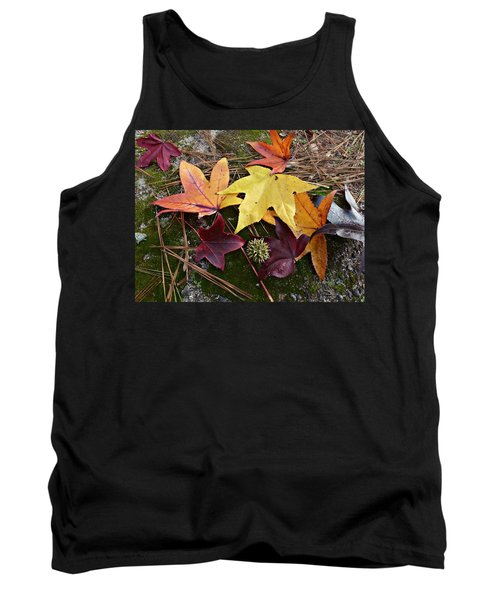 Autumn Tank Top by William Tanneberger