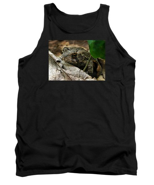 American Toad Tank Top by William Tanneberger