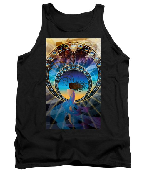 Amore E Nostalgia Tank Top by Kenneth Armand Johnson