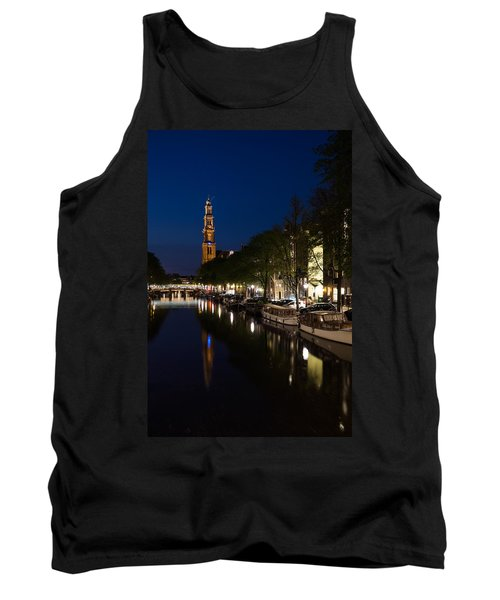 Amsterdam Blue Hour Tank Top