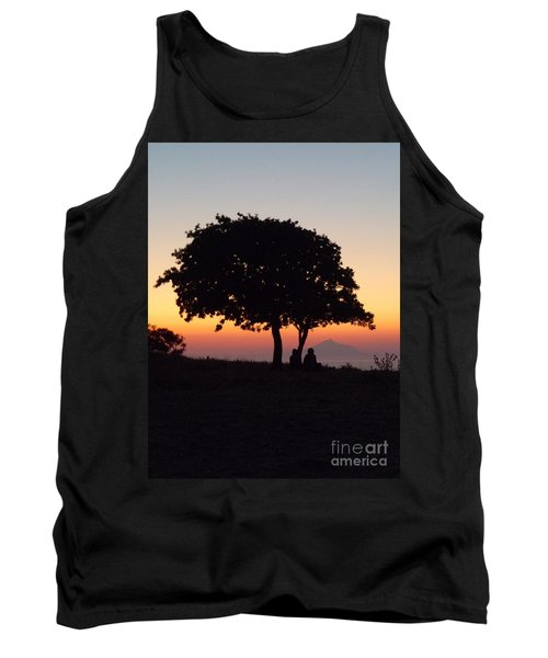 Tank Top featuring the photograph An African Sunset by Vicki Spindler