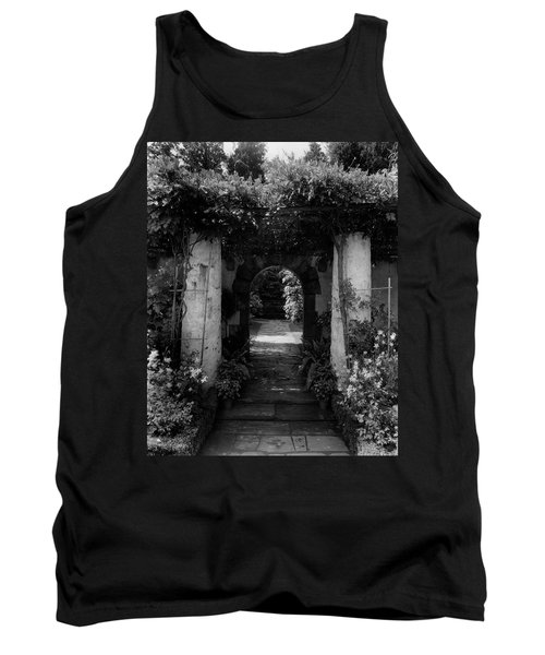 An Archway In The Garden Of Mrs. Carl Tucker Tank Top