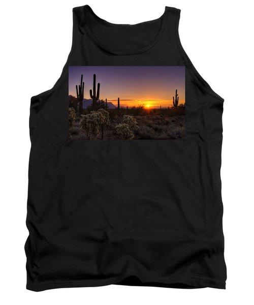 An Arizona Winter Sunrise Tank Top