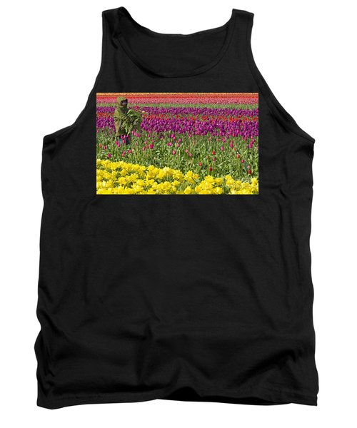 An Arm Full Of Beauty Tank Top by Nick  Boren