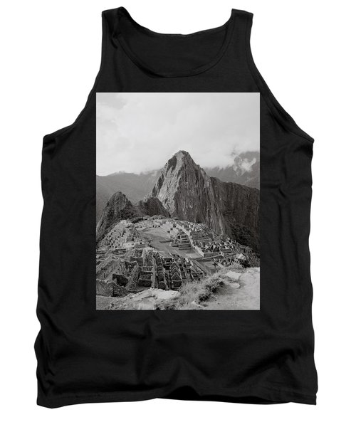 Ancient Machu Picchu Tank Top by Shaun Higson