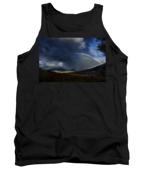 Tank Top featuring the digital art Andean Rainbow by William Horden