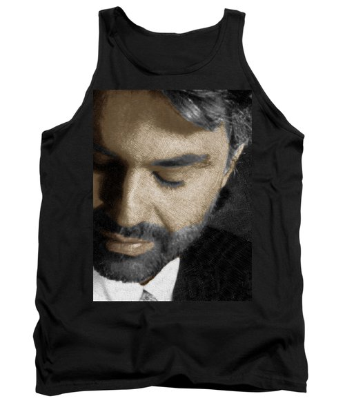 Andrea Bocelli And Vertical Tank Top