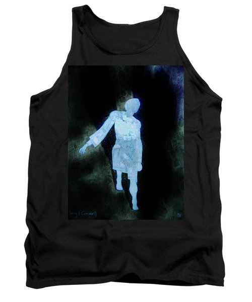 Oh That I Were An Angel  Tank Top by Larry Campbell
