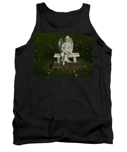 The Angel Is Watching Over Tank Top