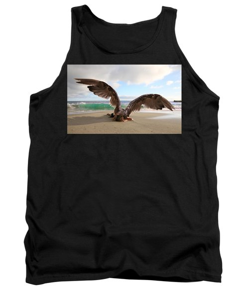 Angels- For The Lord Himself Will Descend From Heaven With A Shout Tank Top